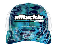 Alltackle Fishing Hat - Bold Logo - Kryptek Blue