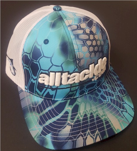 Alltackle Fishing Hat - 3D - Kryptek Blue