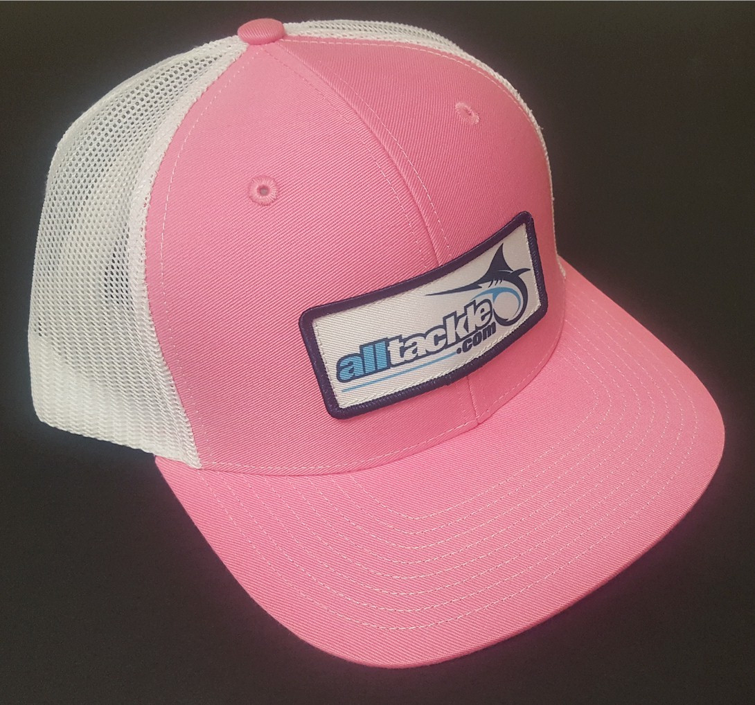 Alltackle Fishing Hat - Logo Box - Pink
