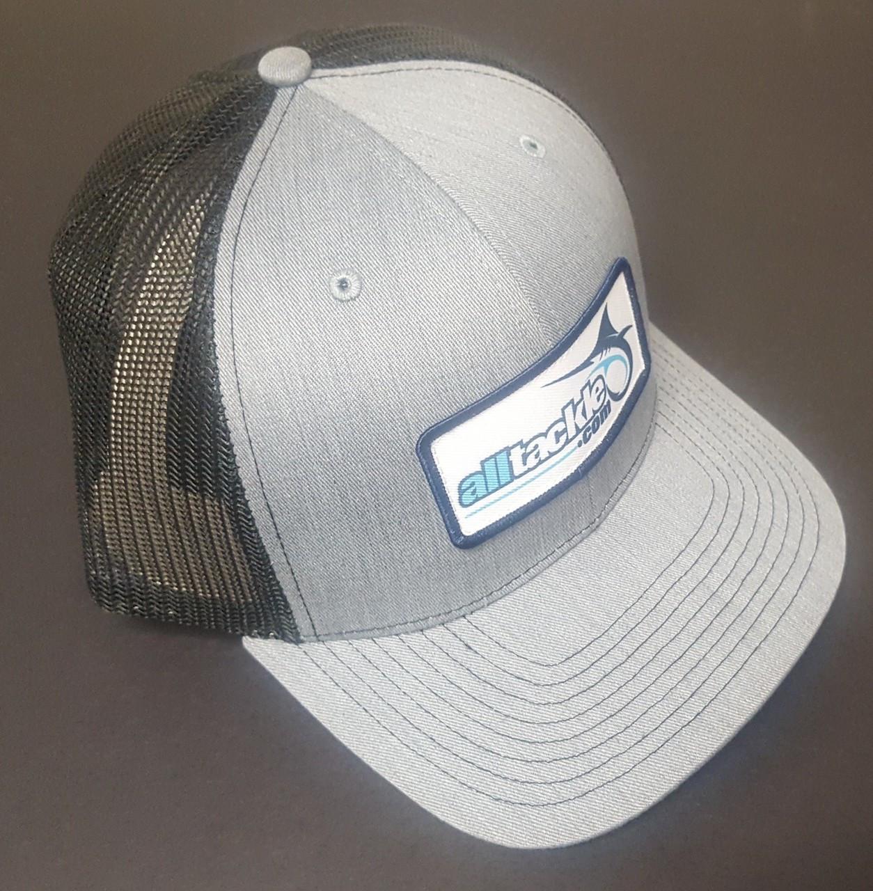 Alltackle Fishing Hat - Logo Box - Gray/Black