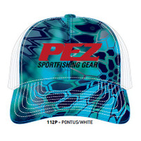 Pez Fishing Hat - Red Logo - Kryptek