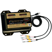 Dual Pro Sportsman Series Battery Charger - 20A - 2-10A-Banks - 12V\/24V