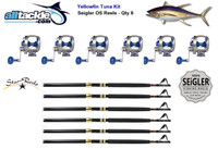 Alltackle 6 Combo Package - Seigler OS Reels, Star Rods and Line