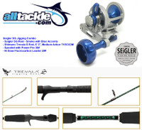 Seigler Combo - SG Reel with Shimano Trevala S Jigging Rod