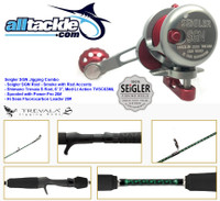 Seigler Combo - SGN Reel Red with Shimano Trevala S Jigging Rod
