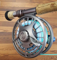 Seigler Fly Reel - Big Blue