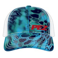 Pez Fishing Hat - Side Logo - Kryptek Blue