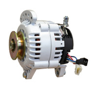 Balmar 60 Series Alternator - Saddle Mount(Dual Foot) - 100A - 12V
