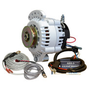 Balmar 621 Series Alternator - Spindle Mount(Single Foot) Charging Kit - 100A - 12V