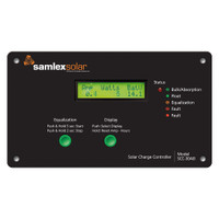 Samlex Flush Mount Solar Charge Controller w\/LCD Display - 30A