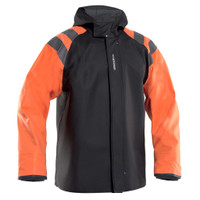 Grundens Balder 302 Jacket - Orange - Small