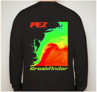 Pez Breakfinder Performance Shirt - Long Sleeve - Black - 2X