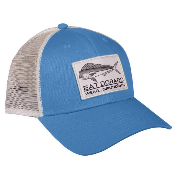 Grundens Eat Dorado Trucker Cap - Royal Blue