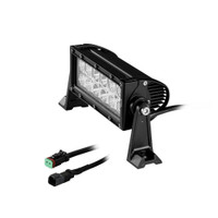 HEISE Dual Row LED Light Bar - 8""