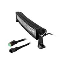 HEISE Dual Row Curved LED Light Bar - 22""