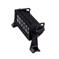 HEISE Dual Row Blackout LED Light Bar - 8""