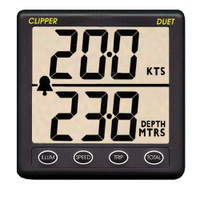 Clipper Duet Instrument Depth Speed Log w\/Transducer