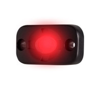 "HEISE Auxiliary Accent Lighting Pod - 1.5"" x 3"" - Black\/Red"