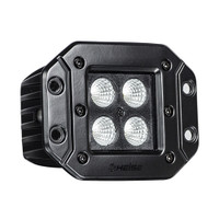 HEISE Blackout LED Cube Light - Flush Mount - 3""