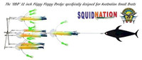 Squidnation Australian Small Boat Dredge - Rasta