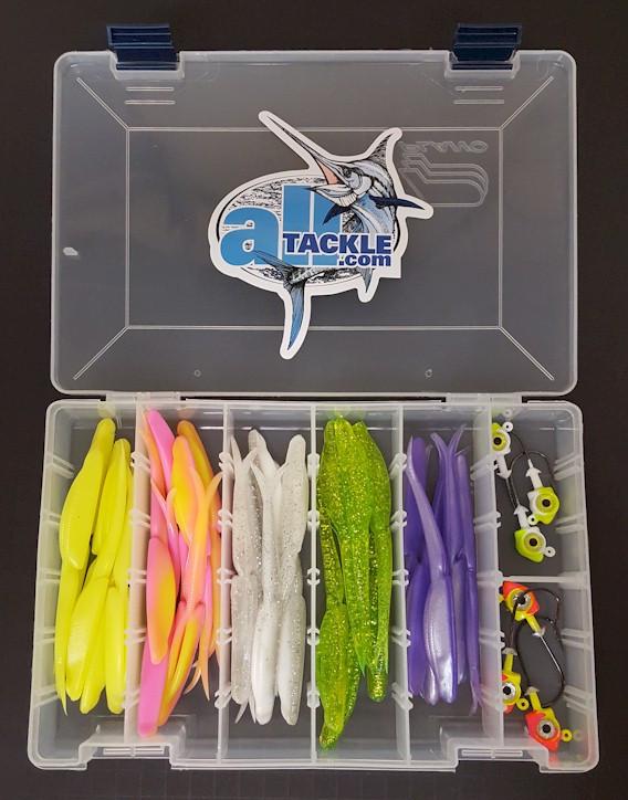 Alltackle Jigging Kit Bustem Baits w/ Tray