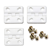 Cooler Shield Replacement Hinge f\/Coleman  Rubbermaid Coolers - 3-Pack