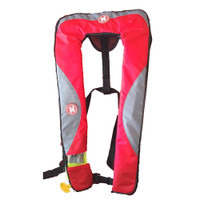 First Watch 24 Gram Inflatable PFD - Automatic - Red\/Grey