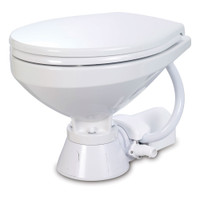 Jabsco Electric Marine Toilet - Regular Bowl w\/Soft Close Lid - 12V