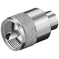 Glomex PL259 Male Connector f\/RG58 C\/U Coax Cable