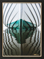 Jay Fleming Print Unframed - Wooden Boat Bow 14 x 20