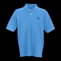 Marlin Hook Polo - Carolina Blue