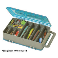 Plano Double-Sided Tackle Organizer Medium - Silver\/Blue