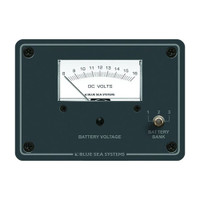 Blue Sea 8015 DC Analog Voltmeter w\/ Panel
