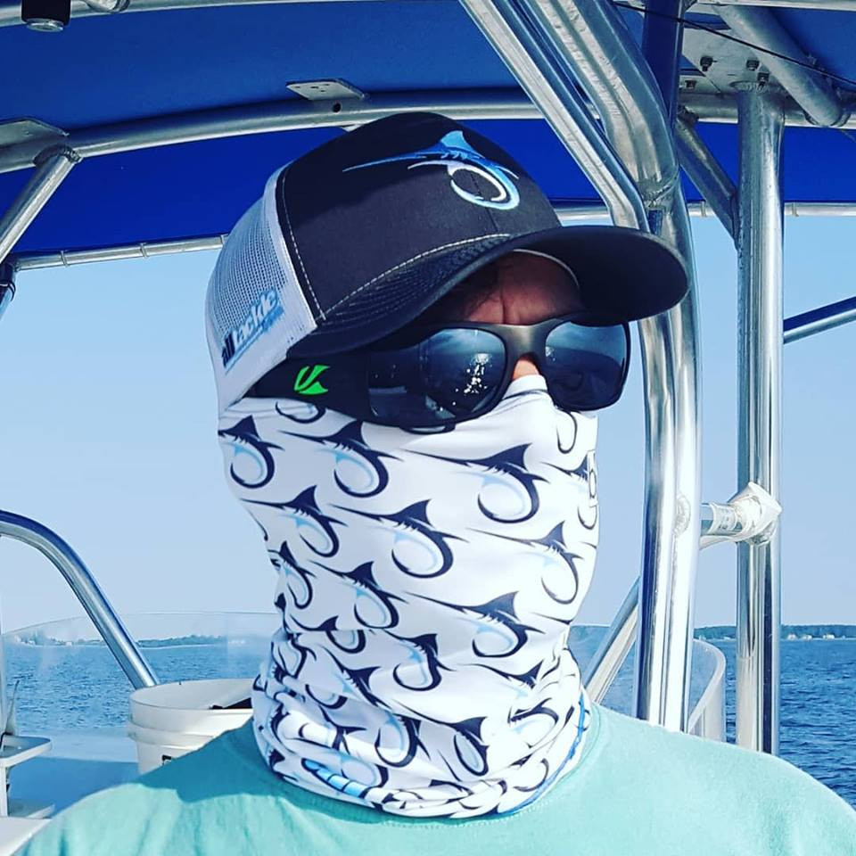 The Alltackle Sun Buff is your multi-functional tool against the elements. Designed for the outdoors, this lightweight, highly breathable,  facemask keeps you cool in the blistering sun, dries quickly when damp and adds thermal warmth for cutting cold winds. Did we mention UPF 50+ UV Protection? Sunburns are now a thing of the past.