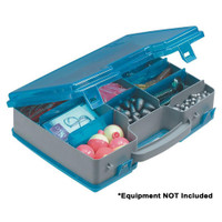 Plano Double-Sided Adjustable Tackle Organizer Large - Silver\/Blue