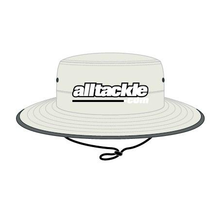 Alltackle Sun Hat - Logo - Stone