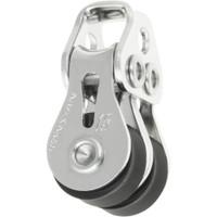 Ronstan Series 15 Ball Bearing Utility Block - Double, Loop Head