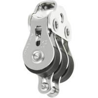 Ronstan Series 15 Ball Bearing Utility Block - Triple Block, Becket, Loop Head