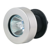 Marinco Flush Mount Docking Lights - Flat Lens w\/Stainless Steel Frame