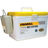 Frabill Bait Box w\/Aerator - 8 Quart