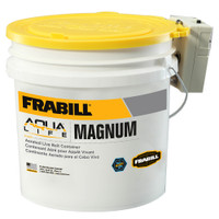 Frabill Magnum Bucket - 4.25 Gallons w\/Aerator