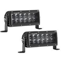 "Rigid Industries SAE Compliant E-Series 6"" Light Bar - Black"