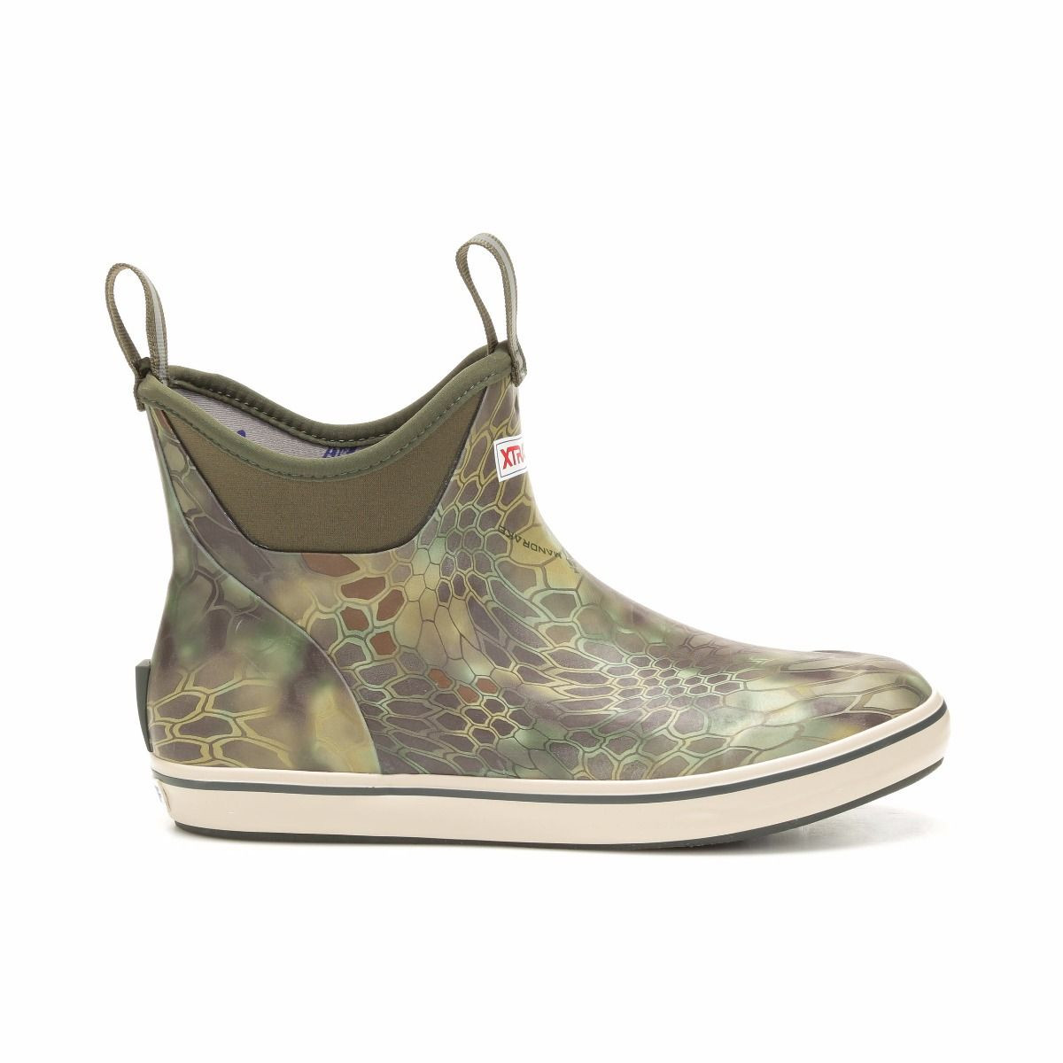 "Xtratuf Kryptek Ankle Deck Boot 6"" Kryptek Moss"