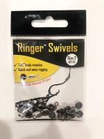 Ringer Swivels - Size 2 - 10 Pack