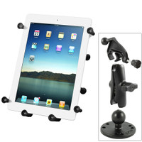 RAM Mount Universal X-Grip III Large Tablet Holder - Fits New iPad - Includes Yoke Mount