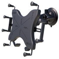 """RAM Mount Twist-Lock Suction Cup Mount w\/Universal X-Grip Cradle for 12"""" Large Tablets"""