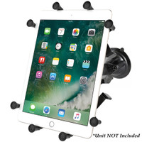 """RAM Mount Twist-Lock Suction Cup Mount w\/Universal X-Grip Cradle for 10"""" Large Tablets"""