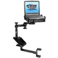 RAM Mount No-Drill Laptop Mount f\/Chevrolet 2500 C\/K, 3500 C\/K, Silverado, Suburban, Tahoe, GMC Sierra & Yukon