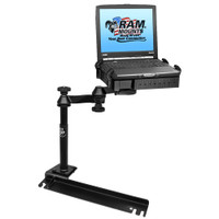 RAM Mount No-Drill Laptop Mount f\/Ford Transit Connect, Dodge Grand Caravan, Chrysler Town & Country