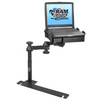 RAM Mount No-Drill Laptop Mount f\/Dodge Challenger, Charger, Magnum, Sprinter